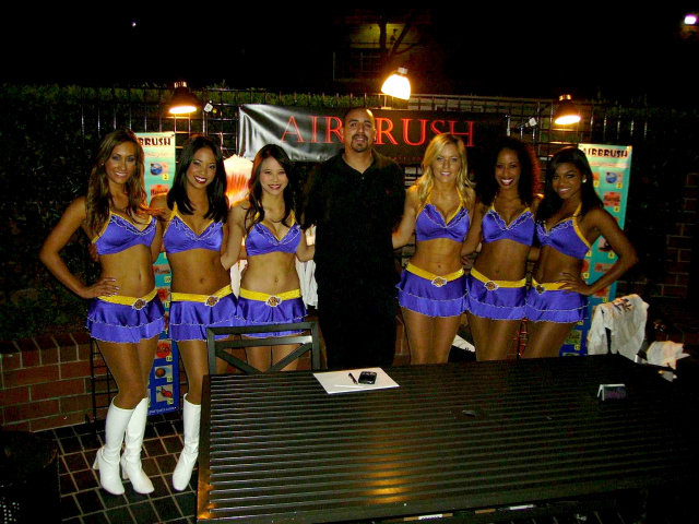 JP & the Laker Girls